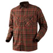 Härkila Pajala Skjorte Red Checkered