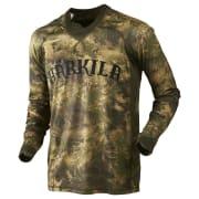 Härkila Lynx L/S T-Shirt Axis MSP Forest Green