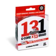 Sufix 131 G-Core x13 Braid Lo-Vis Green 150m