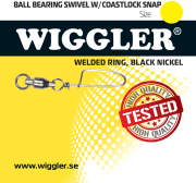 Wiggler Kulelagersvivel Coastlock