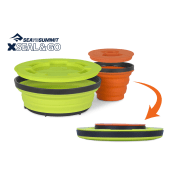 Sea To Summit Xseal & Go Set Small Lime / Orange