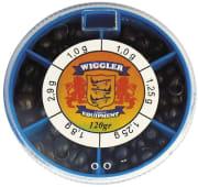 Wiggler 120g Sortimentask Små Hagel