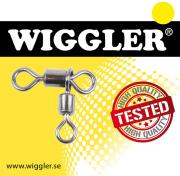 Wiggler Rolling Swivel Cross Line Black Nickel