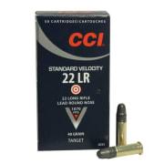 Cci Standard Rifle/Pistol 40 Solid