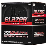 CCI 22 LR Blazer - Bulk Pack 38 LRN 525/5250