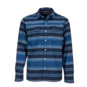 Simms Gallatin Flannel Shirt Rich Blue Stripe