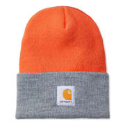 Carhartt Acrylic Watch Hat Bright Orange/H.Grey OFA