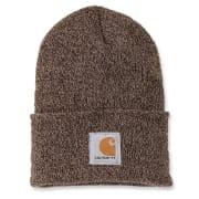 Carhartt Acrylic Watch Hat Darkbrown/Sandstone OFA