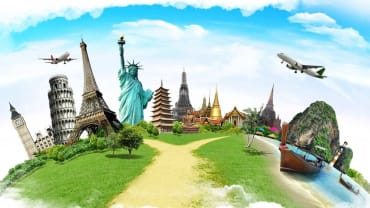 Wisata ke luar negeri