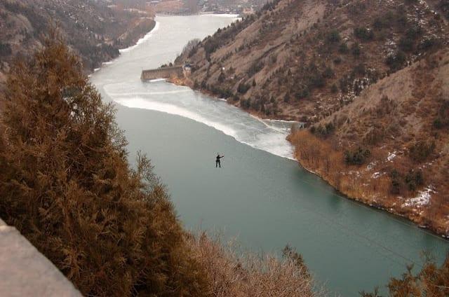 Flying Fox Simatai Great Wall China