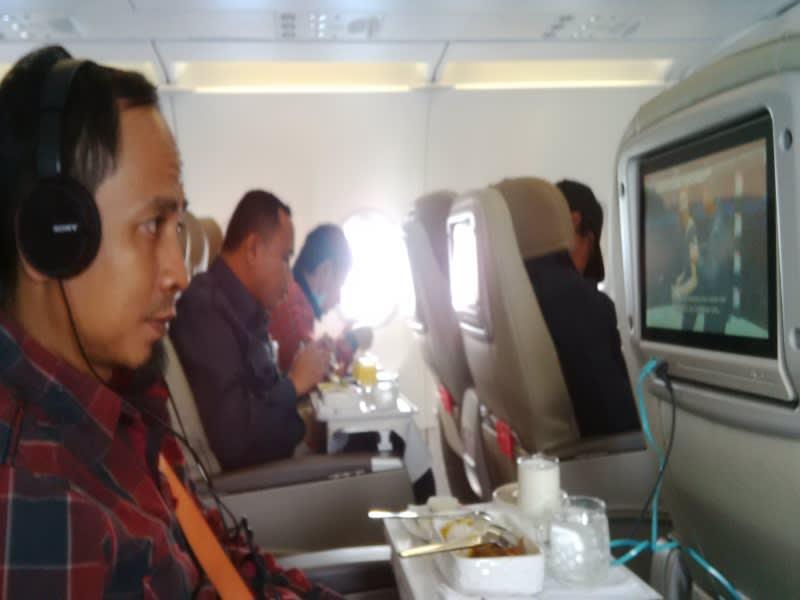 Menikmati layanan kelas bisnis Batik Air