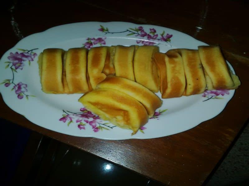 Kue pancong rasa manis original