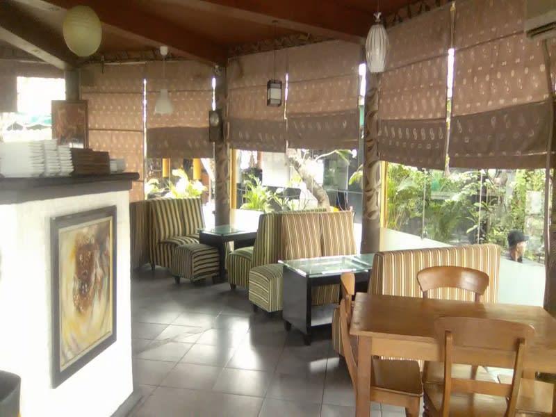 Salah satu sudut ruangan kafe D'7uan