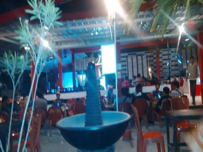 Salah satu sudut Warkop Aweng Jl Sam Ratulangi, Palu