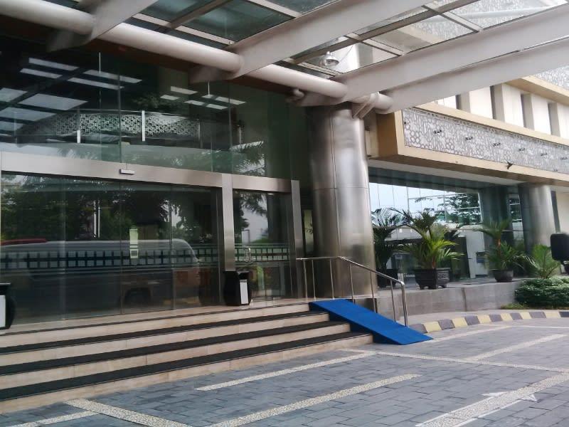 Lobi Hotel Rose In, Bantul, Yogyakarta