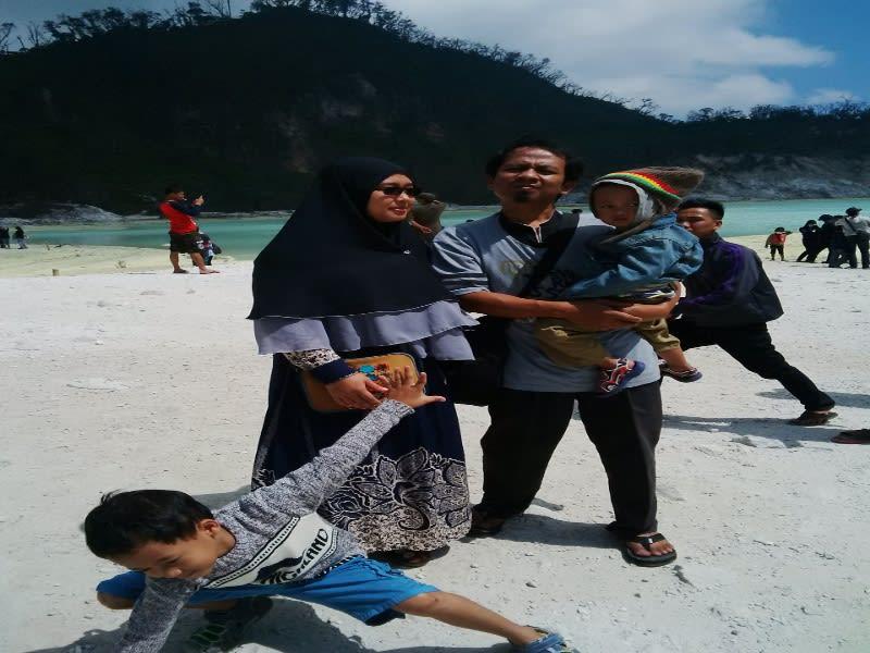 Di Kawah Putih, Ciwidey, Kabupaten Bandung