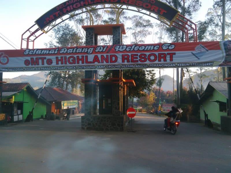 eMTe Highland Resort, salah satu resort berkonsep back to nature di Ciwidey, Kabupaten Bandung