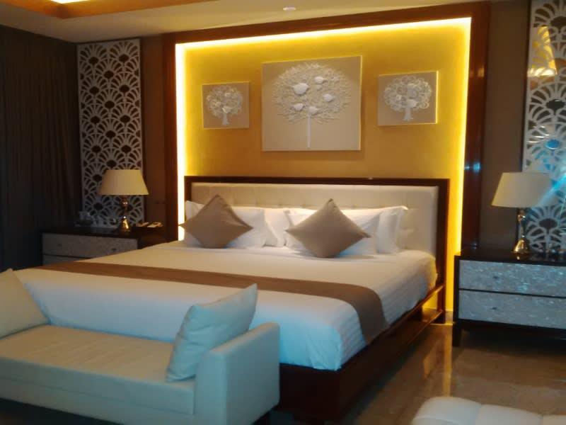 Kamar tidur di Majestic Point Villas, Bali