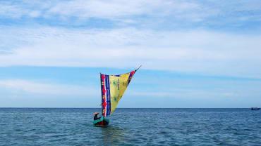 Berlayar di Laut jawa, Pulau Tidung