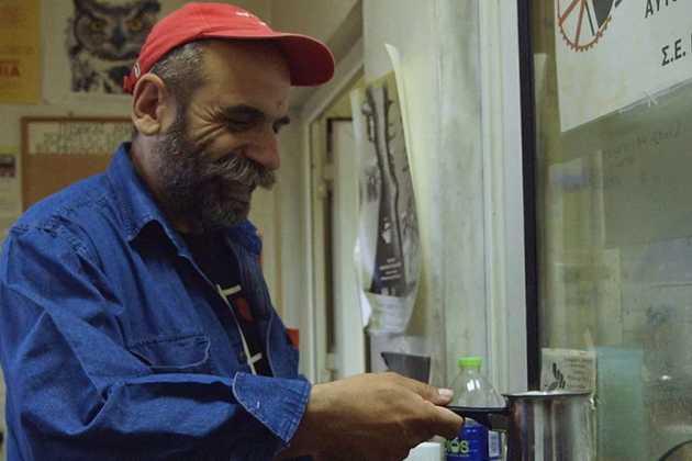 Worker in Greece