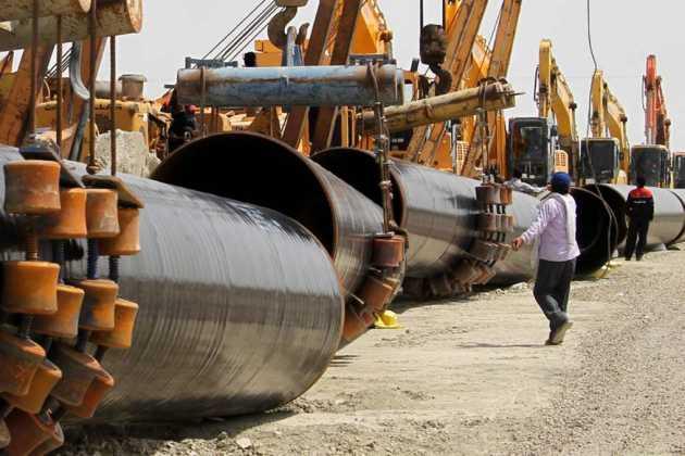 Iran gas pipeline