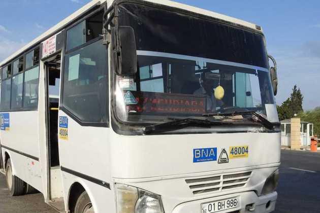 Azerbaijan bus