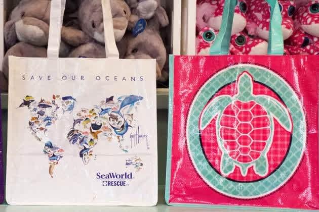 SeaWorld bags