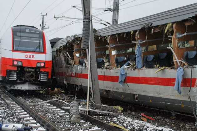 train accident in Austria