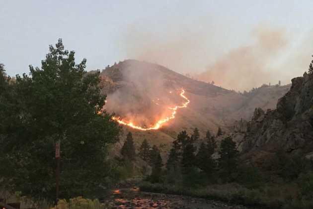Wildfires in Utah