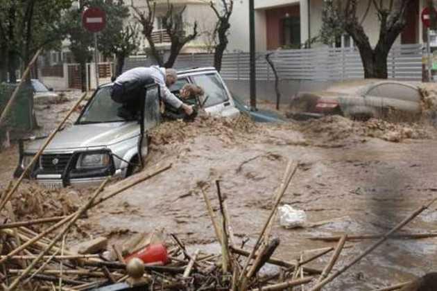 Floods in Greece