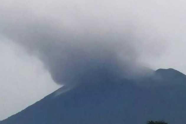 Mount Agung volcano erupts in Bali