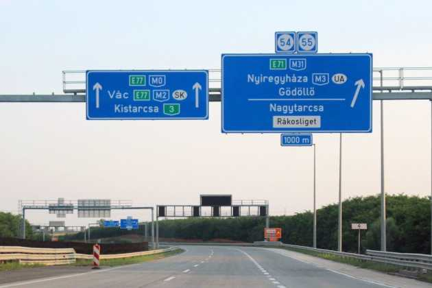 Hungary highways