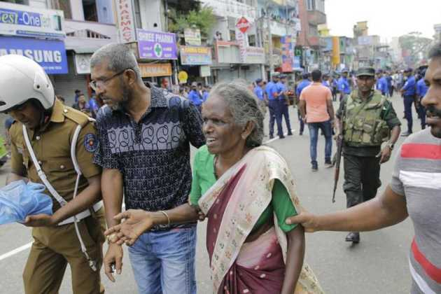 Multiple blasts in Sri Lanka
