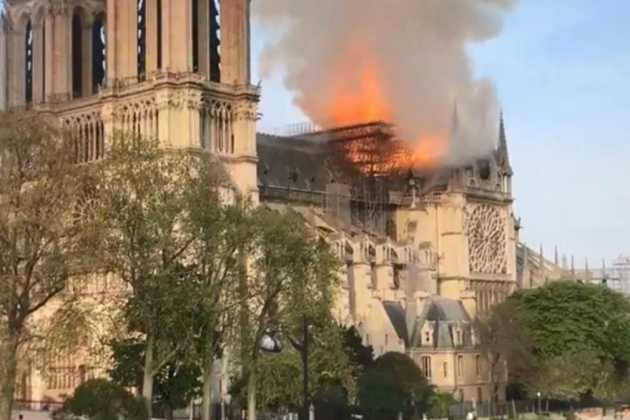 Notre-Dame blaze