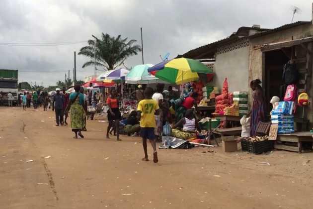 Angola street scene