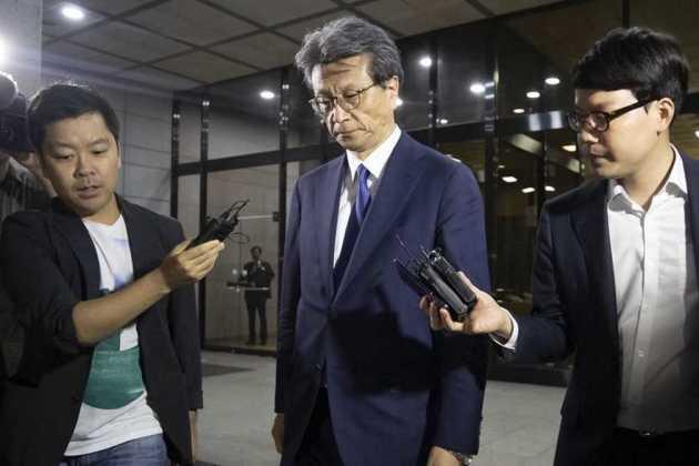 Chung Hyun-ho, president of Samsung Electronics