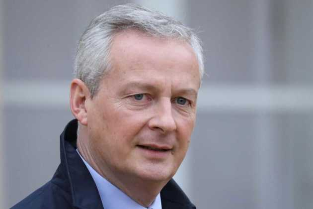 Finance Minister Bruno Le Maire