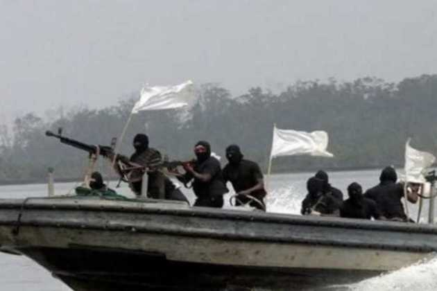 Gulf of Guinea pirates
