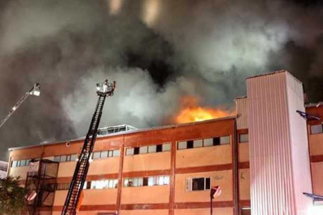 Istanbul factory fire