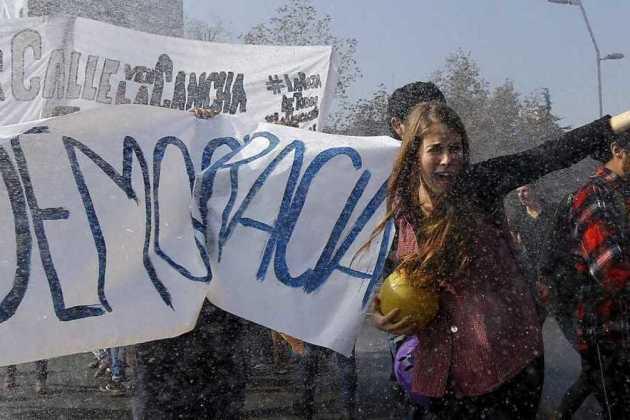 strike of Chilean teachers