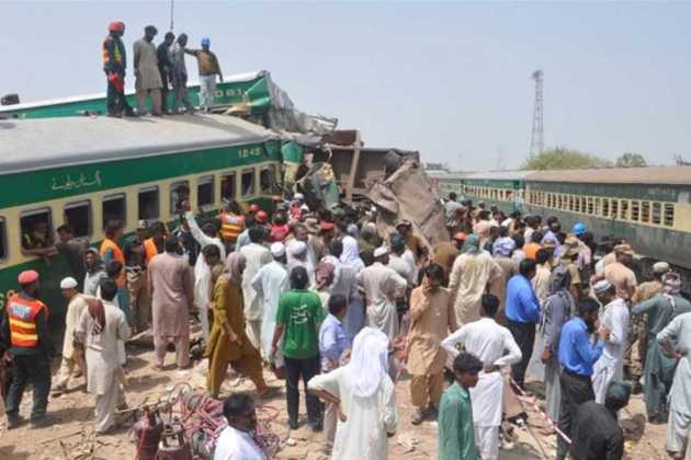 Pakistan's train collision