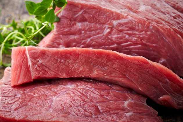 The first batch of imported beef from Panama