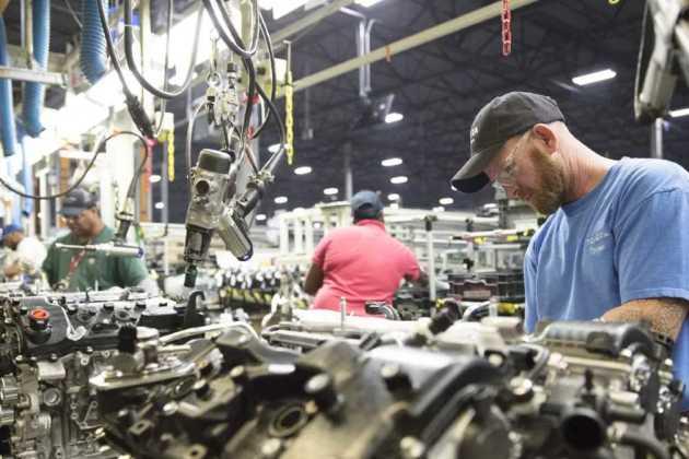 Toyota plant in Alabama