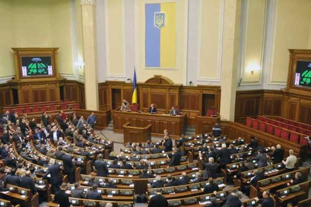 Ukrainian parliament