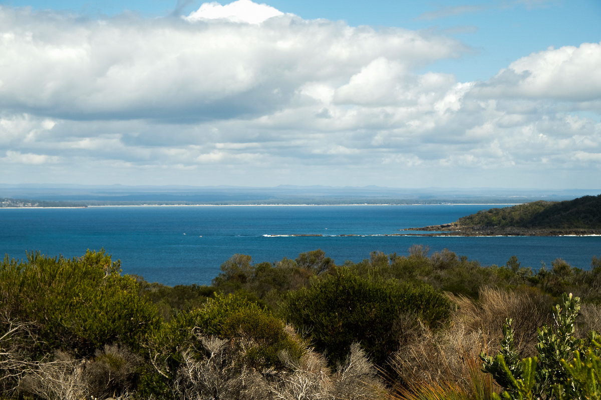 Jervis Bay from Point Perpendicular walking track