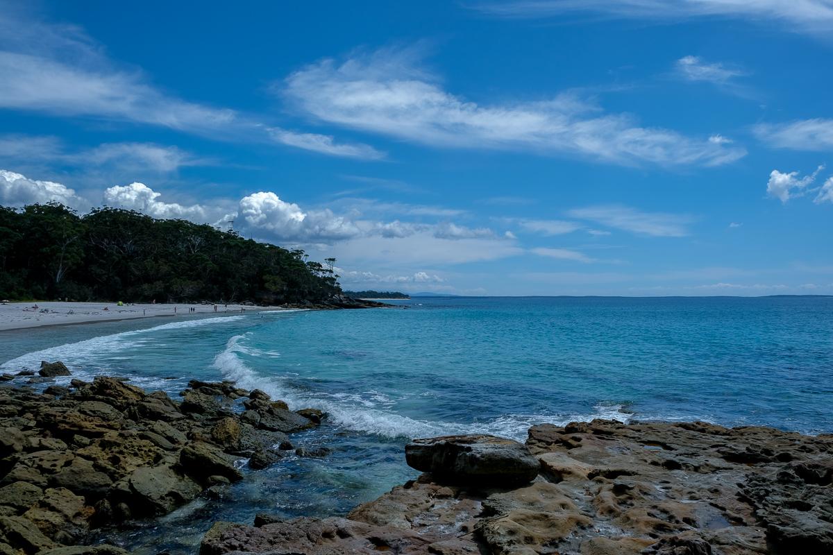 Greenfield Beach from walk to Hyamns Beach