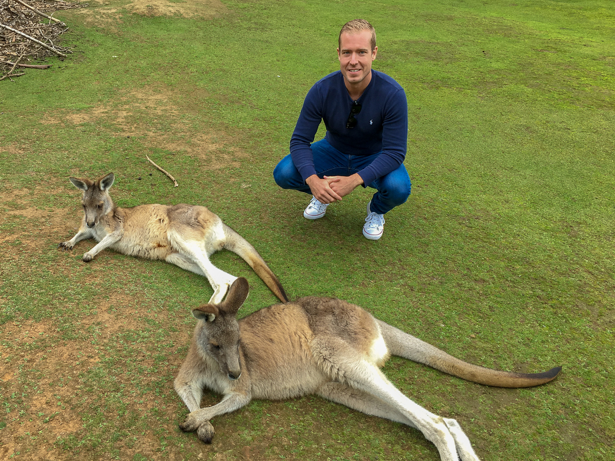 Tasmania with Kangaroos