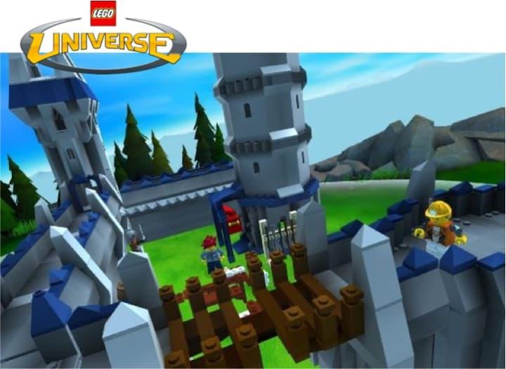 Capture d'écran du jeu Lego Universe