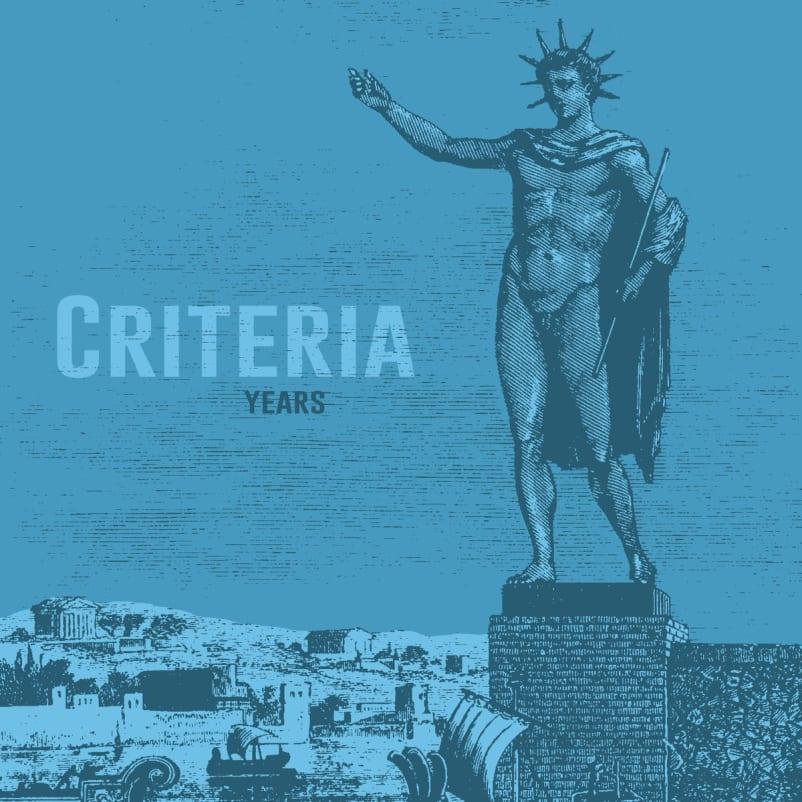 Criteria - Years
