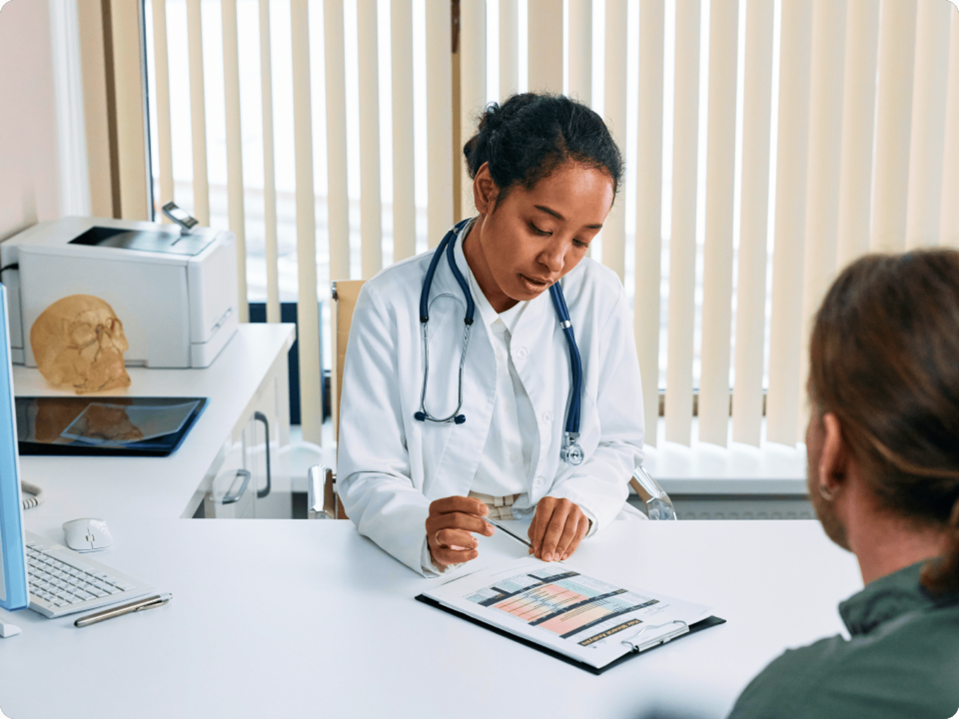 Doctor consultation with patient